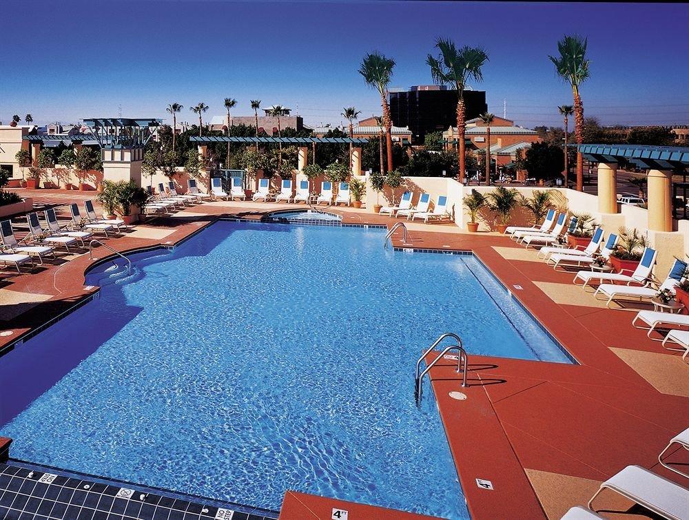 sky swimming pool leisure Resort marina dock lined