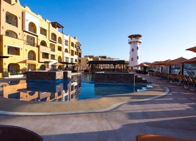 sky property plaza swimming pool Resort sport venue marina walkway dock town square palace