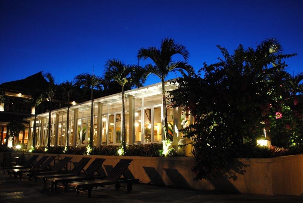 sky night light evening lighting dusk Resort landscape lighting plaza highway