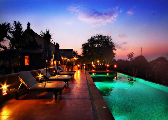 sky swimming pool property Resort light night evening lighting dusk landscape lighting