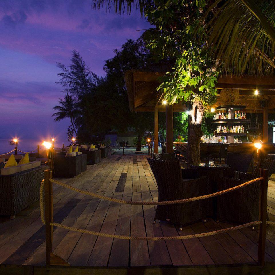 night evening light street morning lighting Resort dusk restaurant