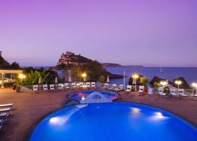 sky swimming pool property Resort dusk
