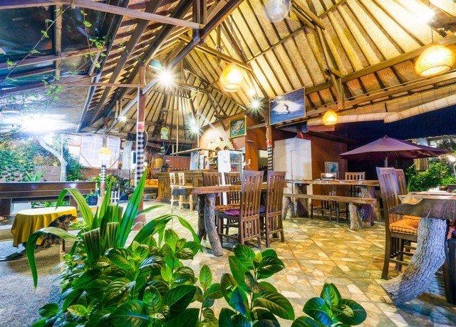 Resort property restaurant marketplace eco hotel plant