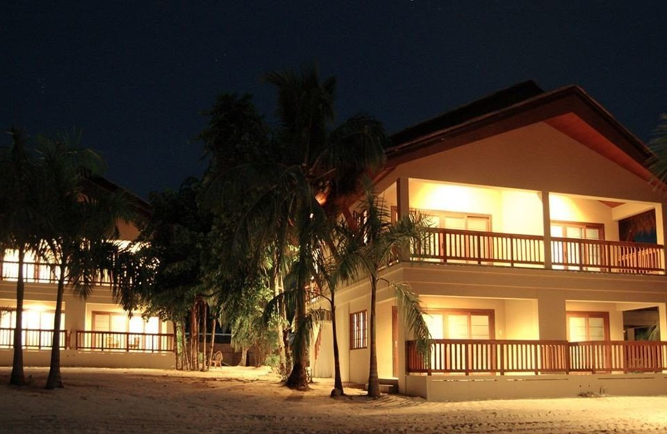 night house Resort evening home lighting