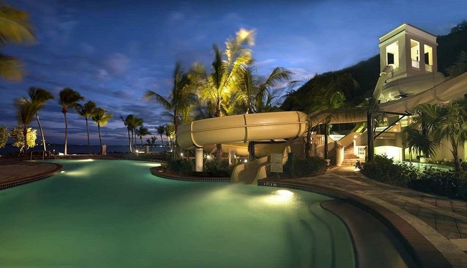 tree night residential area mansion screenshot lighting evening landscape lighting home Resort