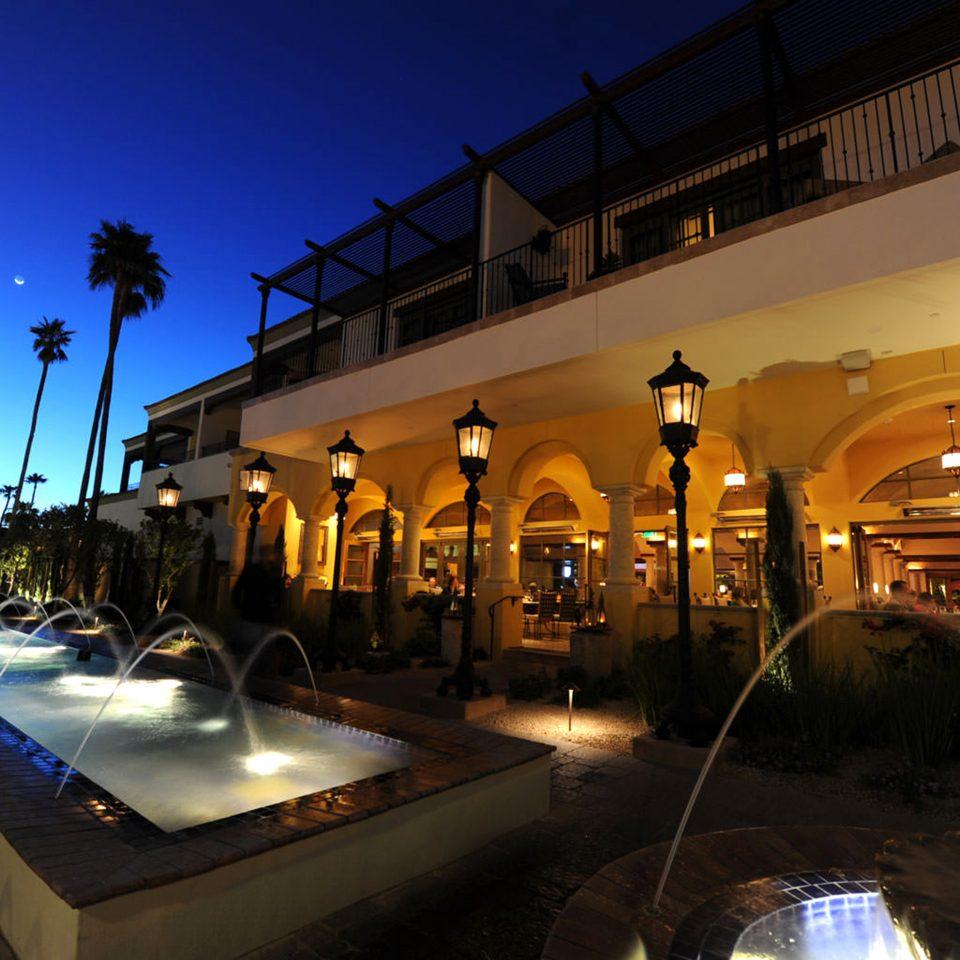sky night light evening lighting Resort