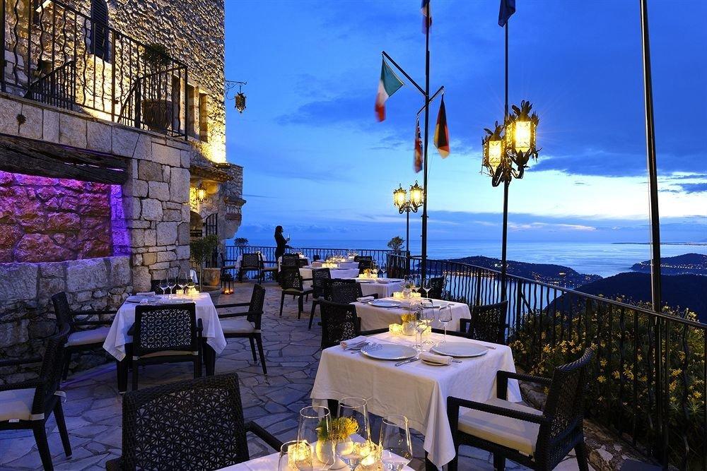 sky restaurant evening Resort light