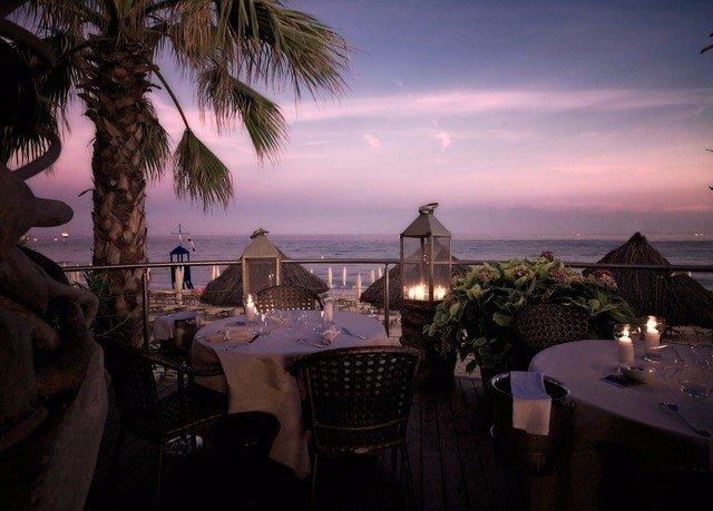sky tree palm night evening plant restaurant Resort