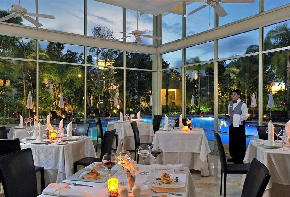 Resort restaurant function hall plaza