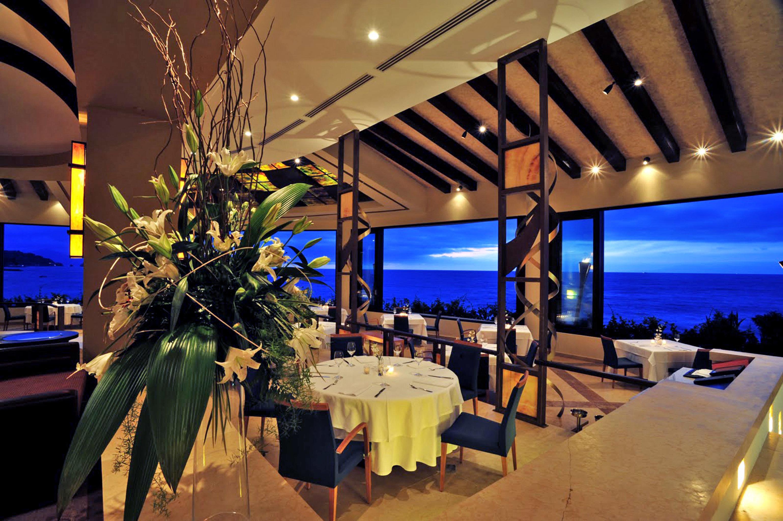 restaurant function hall Resort wedding reception