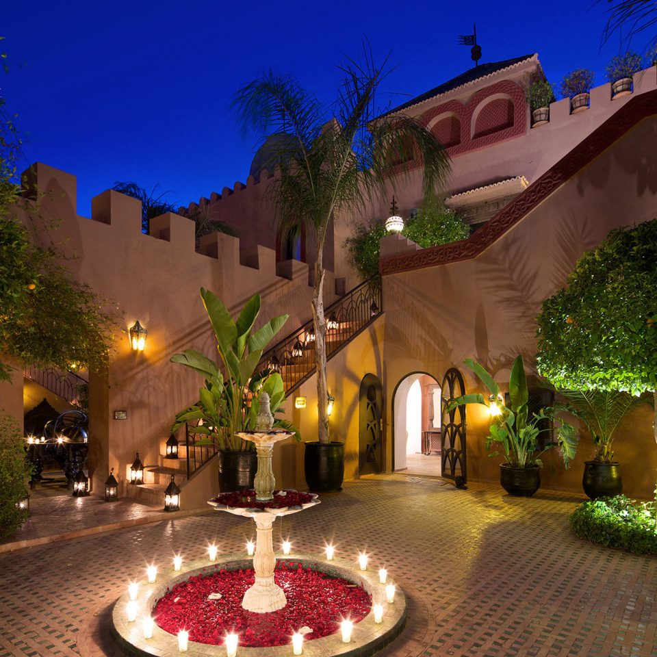 tree night Resort screenshot landscape lighting mansion hacienda