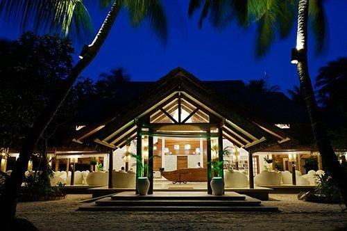 tree house Resort night home lighting landscape lighting restaurant plant