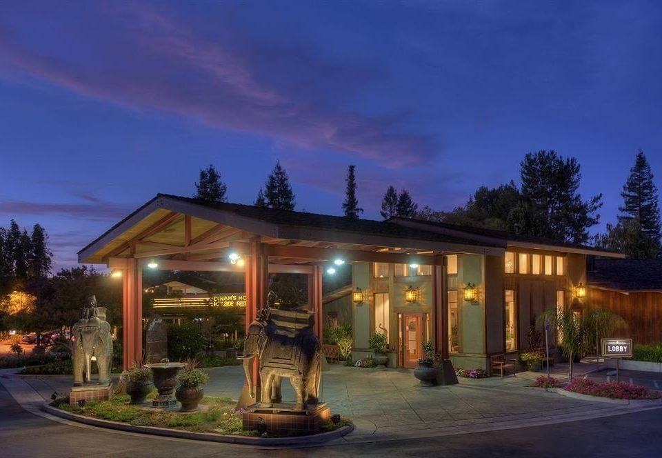 sky road house home lighting landscape lighting Resort sign