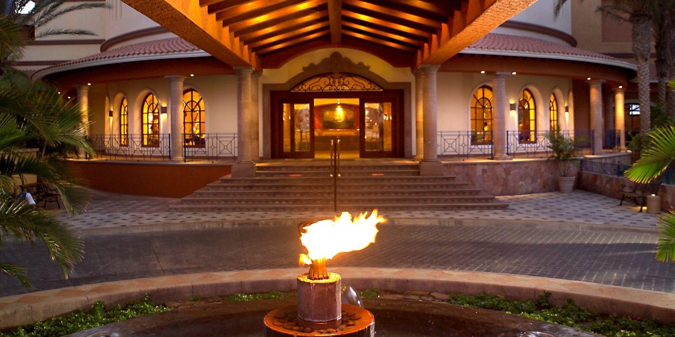 lighting home Resort landscape lighting mansion