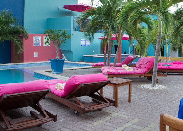 tree leisure Resort pink physical fitness swimming pool plant
