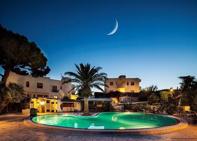sky tree swimming pool Resort night light