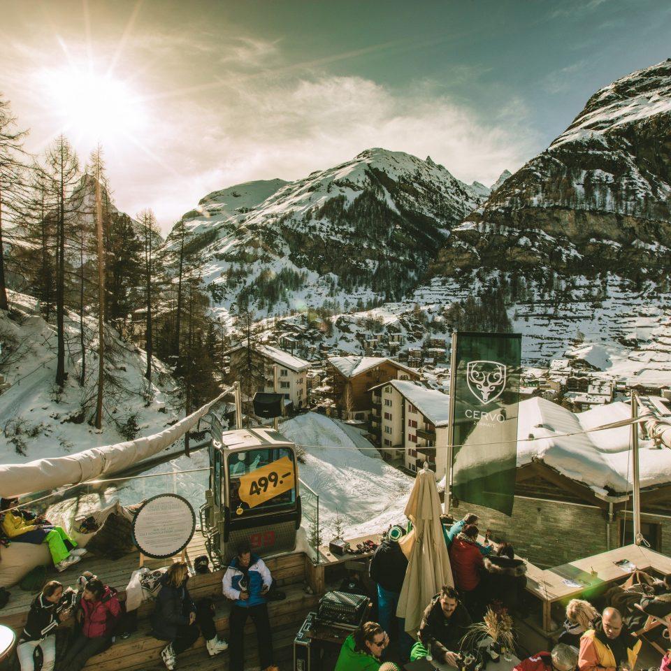 mountain mountain range snow screenshot Resort
