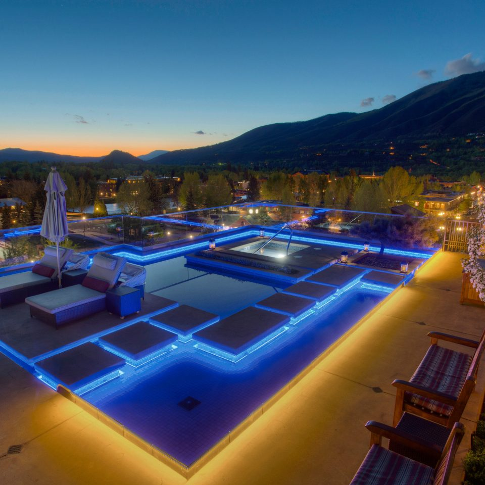 sky swimming pool mountain Resort