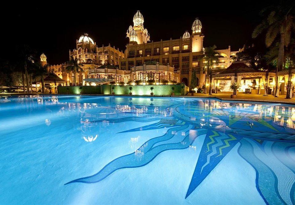 swimming pool Resort night