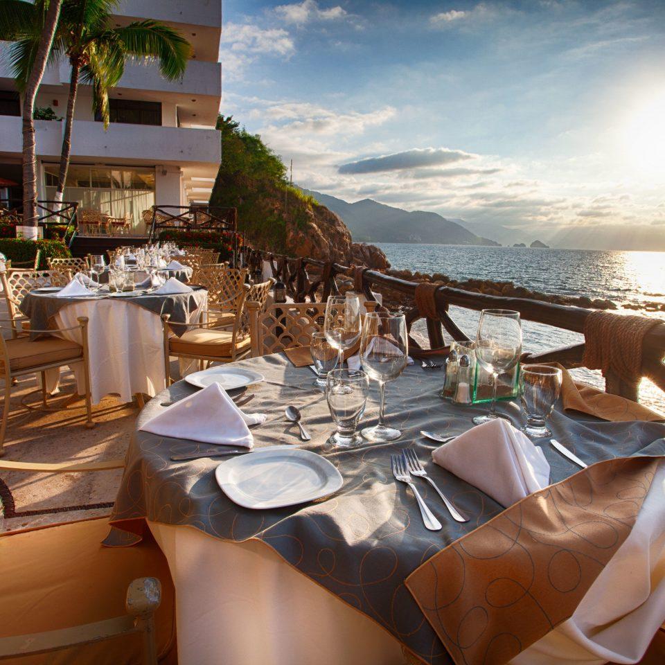 restaurant yacht passenger ship vehicle Resort overlooking set