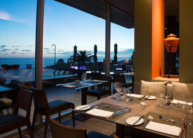 sky property restaurant Resort overlooking set