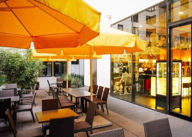 yellow restaurant Resort