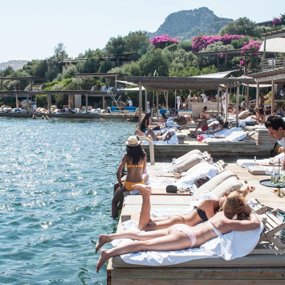 sky water leisure boating Sea vehicle Resort passenger ship dock marina caribbean swimming pool swimming