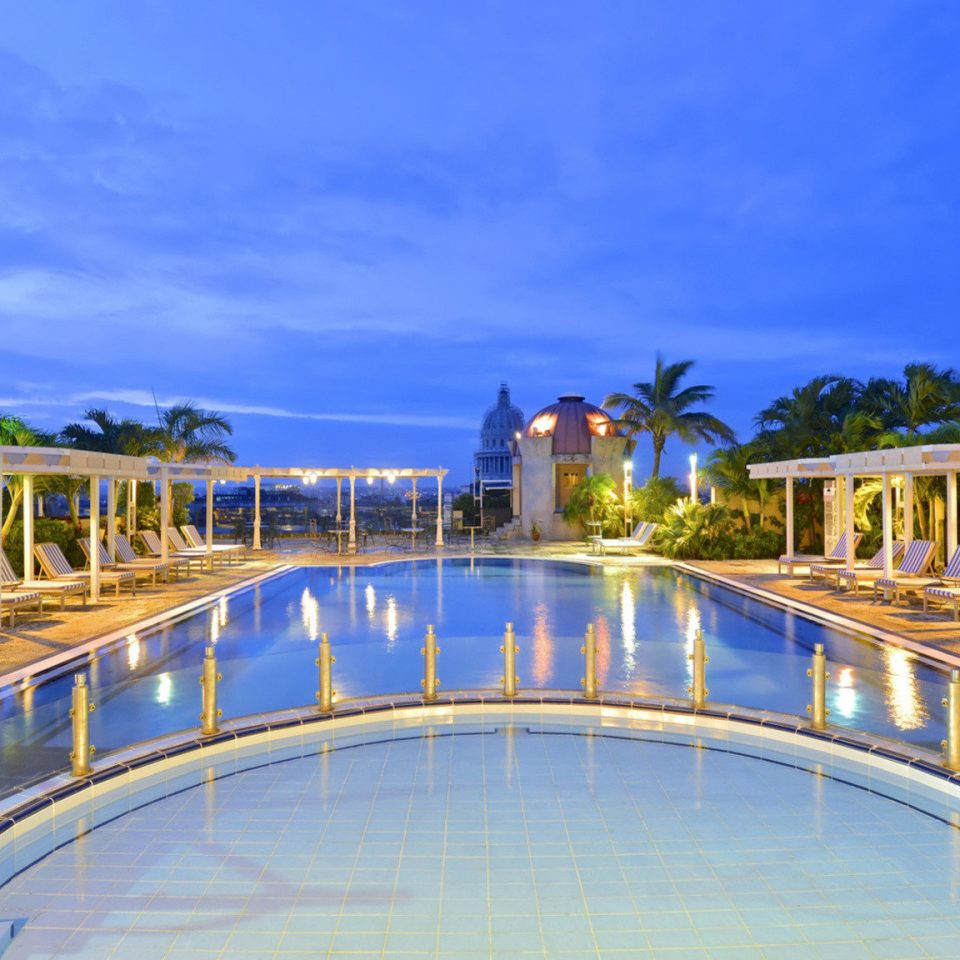 sky building swimming pool property Resort Sea marina condominium lined