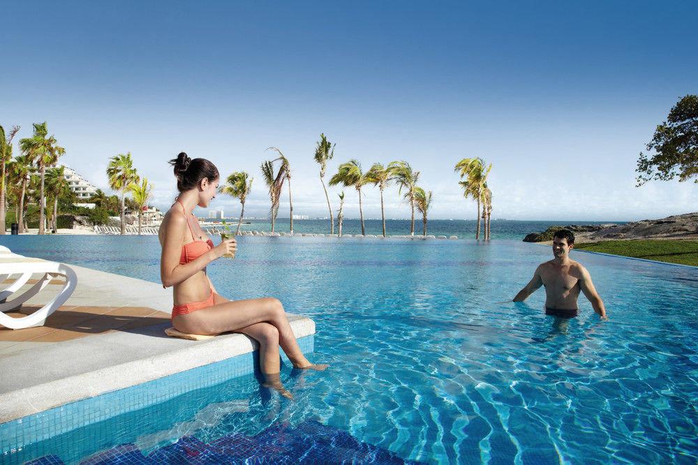 sky water leisure swimming pool Sea caribbean swimsuit Resort swimming day