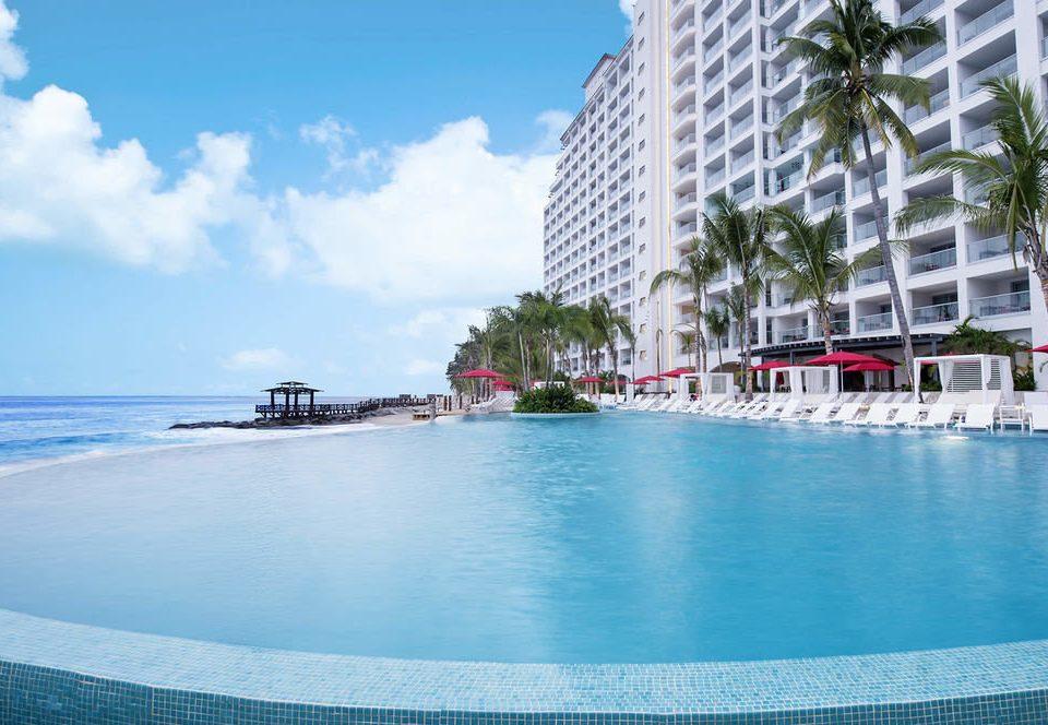 sky water swimming pool leisure Resort Sea caribbean shore