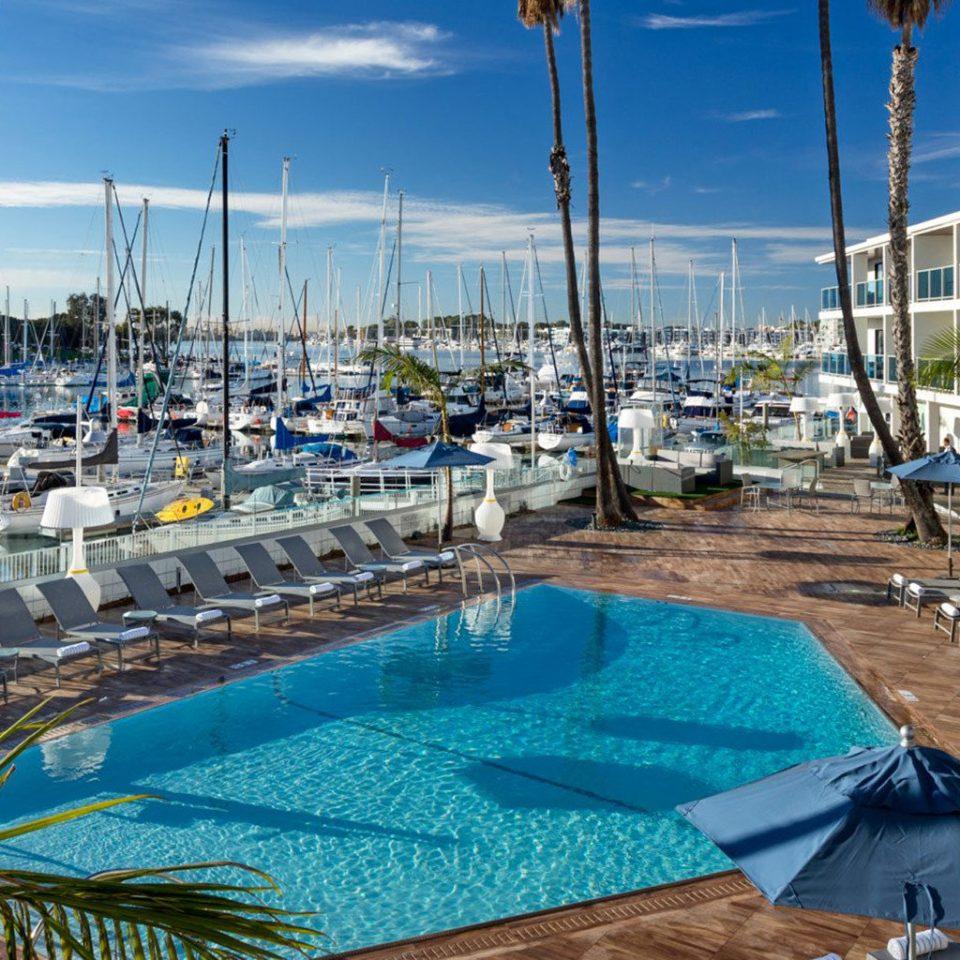 sky marina leisure dock Resort swimming pool Sea condominium
