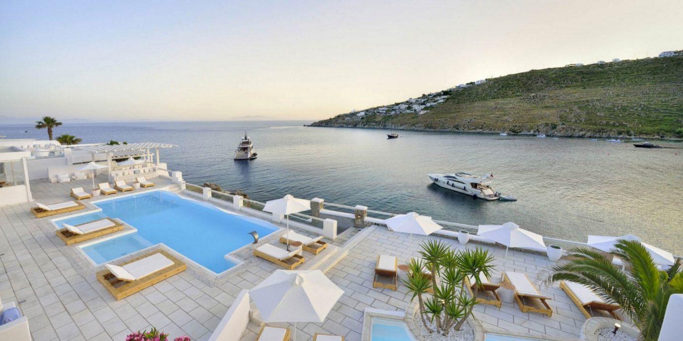sky water property marina dock Sea vehicle Resort