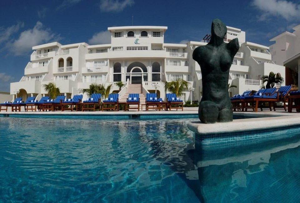 water swimming pool landmark palace Resort Sea swimming