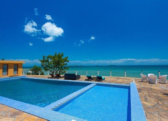 sky swimming pool property leisure blue Resort Villa caribbean Sea