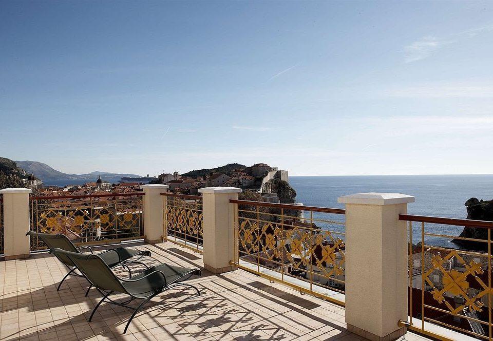sky property walkway home Sea Resort boardwalk Villa
