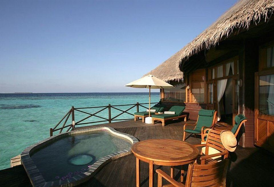 sky water chair Sea vehicle Resort caribbean Villa open set