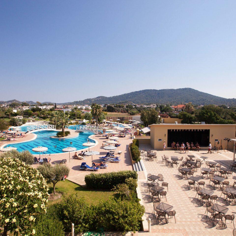 sky property Resort swimming pool Villa marina Sea day