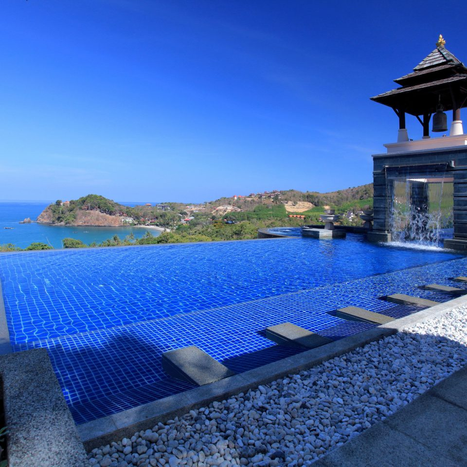 sky ground swimming pool property Villa Resort Sea mansion stone