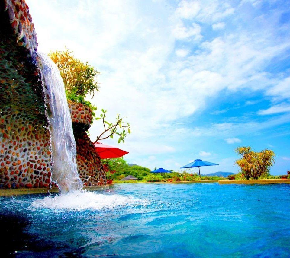 sky water leisure amusement park swimming pool Water park park Resort Sea blue