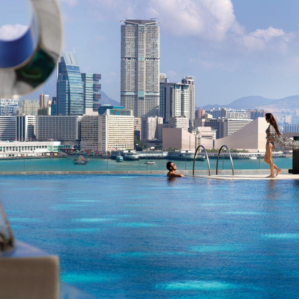 water leisure swimming pool Water park Sea Resort skyline