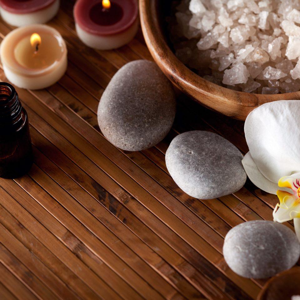 Resort Spa Wellness plate wooden food flower flavor baking sweetness cuisine