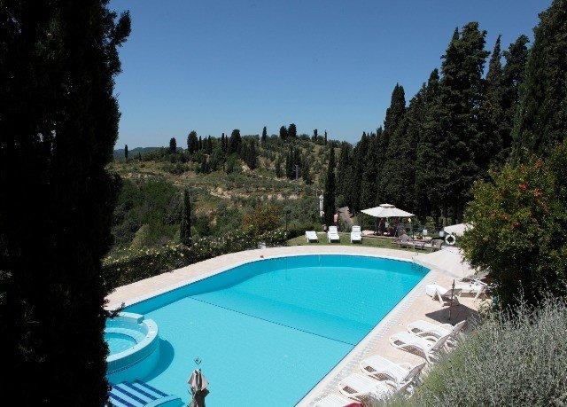 tree sky swimming pool property Sport Villa Resort backyard