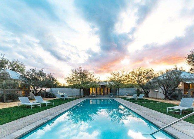 sky tree swimming pool property Sport backyard Resort Villa mansion
