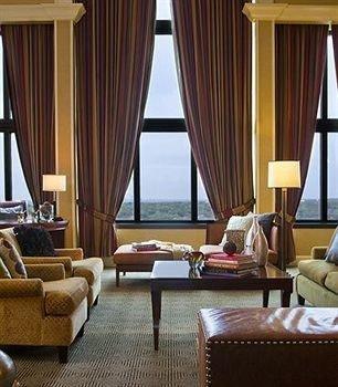 chair property Suite living room curtain Resort window treatment condominium
