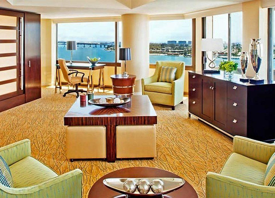 property chair living room Suite home condominium cottage Resort overlooking