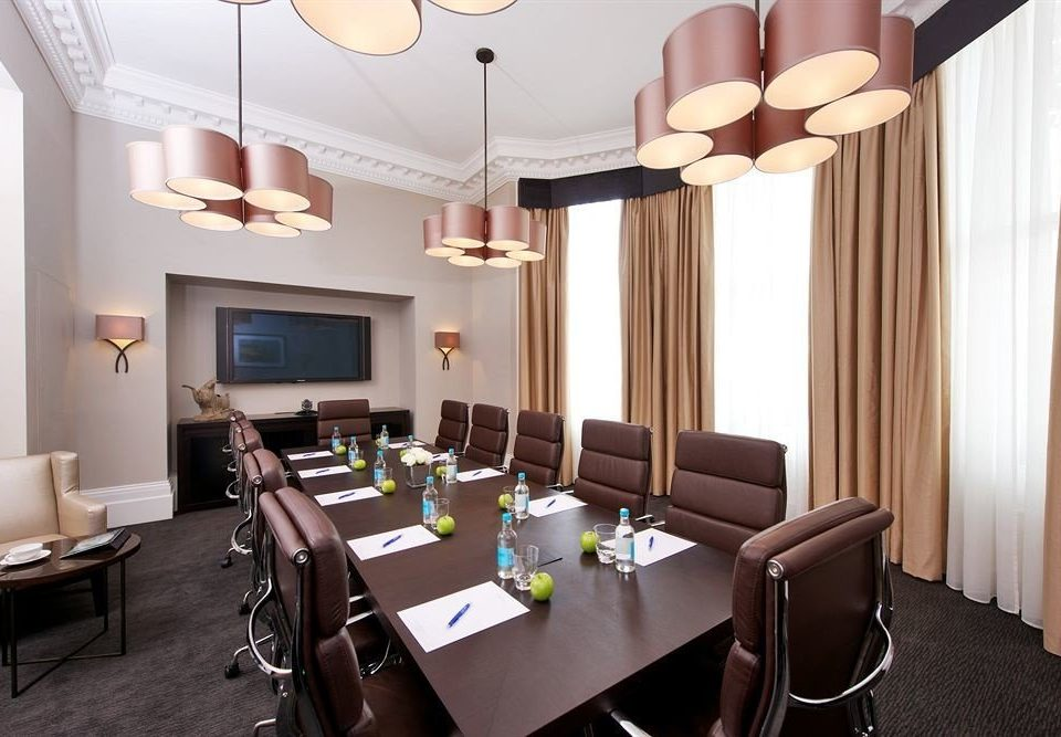property curtain Suite restaurant function hall conference hall living room Resort leather