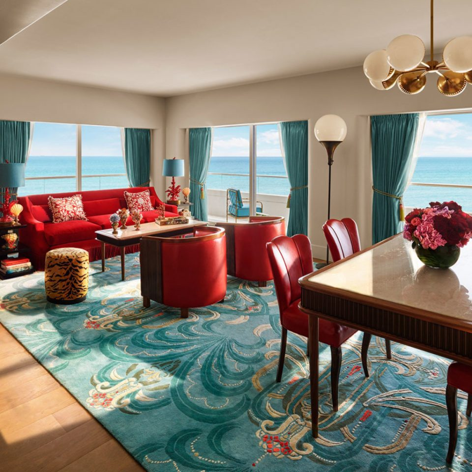 property living room restaurant Suite home Resort dining table