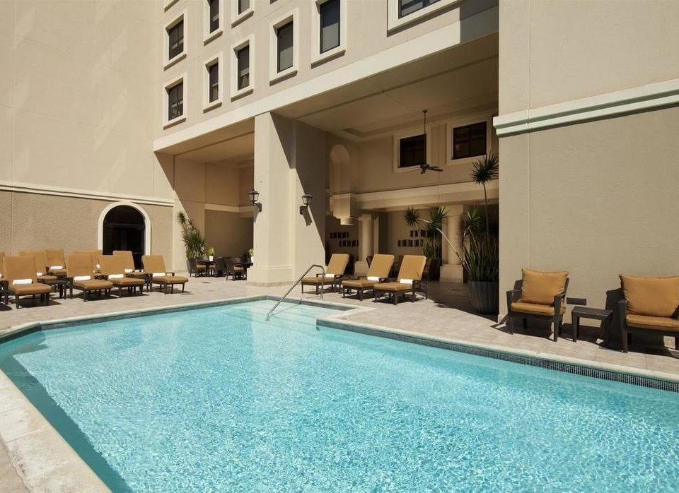 swimming pool property building blue Villa condominium mansion Resort Suite