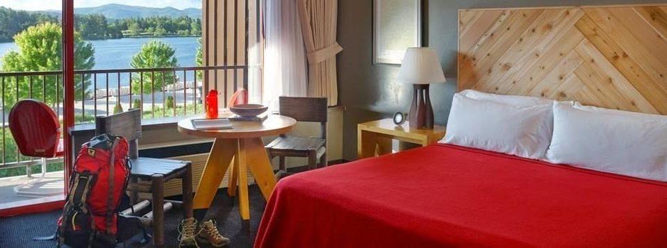 red property building cottage Suite Resort Villa