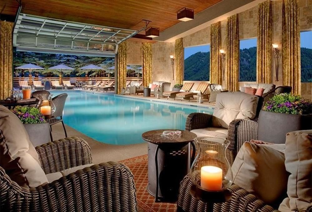 chair property swimming pool home living room Resort cottage Villa Suite